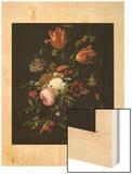 Flowers in a Crystal Vase (Fleurs dans une Carafe de Cristal Avec une Branche)