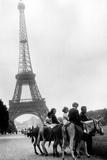 Paris  Eiffel Tower  1960's