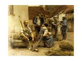 La Paye des Moissonneurs  1882 (Payroll Reapers)