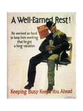 A Well Earned Rest 1930