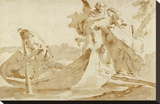 Flight into Egypt (recto); Various Studies (verso)