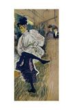 Jane Avril Dancing  1892