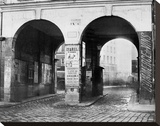 Paris  about 1865 - The Double Doorway  rue de la Ferronnerie