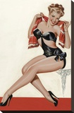 Mid-Century Pin-Ups - Wink Magazine - Silk Stockings & High Heels