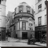 Paris  1898 - The Old School of Medicine  rue de la Bûcherie