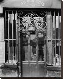 Paris  1901 - Au bon puits  rue Michel Le Conte