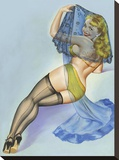 Mid-Century Pin-Ups - The Veil
