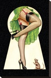 Mid-Century Pin-Ups - Through the Keyhole