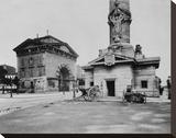 Paris  1903-1904 - Ancienne Barrière du Trône (Tollbooth Pavilion and Column)