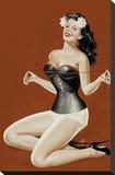 Mid-Century Pin-Ups - Lacing her bra
