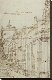 The Campo S Basso: The North Side with the Church  1740s