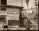 Street Scene  New Orleans  Louisiana  1935