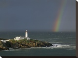 Rainbow over Fanad-Head  Ireland