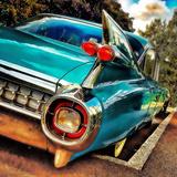 Retro Americana Car