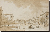 View of Campo San Polo  Venice  ca 1790