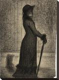 Une elegante (Woman Strolling)