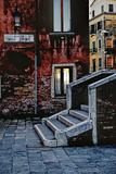 Stone Steps  Twilight Glow  Venice  Italy