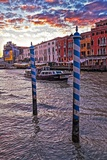The Grand Canal  Venice  at Sunset