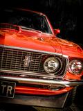 Vintage Retro American Car