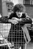 Phil Lynott  Singer and Bass Player with the Rock Group Thin Lizzy