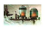 Ratchet And Clank: All 4 One - Environment Concept Art