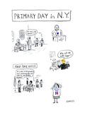 Primary Day in NY - Cartoon