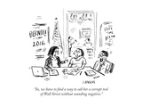 """So  we have to find a way to call her a corrupt tool of Wall Street witho…"" - Cartoon"