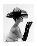 Madame Paulette Net Hat  1963