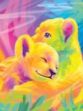 Brushstroke Lions