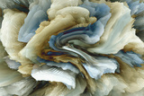 *Exclusive* Rendered Agate - Tempered Glass Wall Art