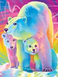 Brushstroke Polar Bears