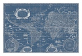 Blueprint World Map  1630