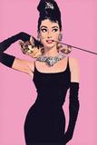 Audrey Hepburn – Pink