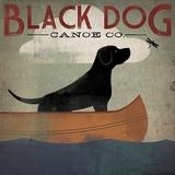 Black Dog Canoe Co. Reproduction d'art par Ryan Fowler