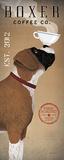 Boxer Coffee Co. Reproduction d'art par Ryan Fowler