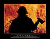 Courage – One Fireman