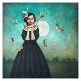 Evening Echoes Reproduction d'art par Duy Huynh