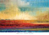 Horizons I Reproduction d'art par Selina Rodriguez