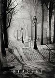 Escalier de la Butte Montmartre