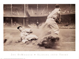 Joe DiMaggio – Sliding into Third