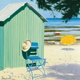 Green Beach Hut