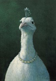Peacock with Pearls Reproduction d'art par Michael Sowa