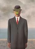 The Son of Man Reproduction d'art par Rene Magritte