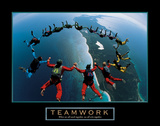 Teamwork – Skydiving