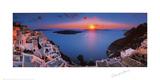 Sunset in the Mediterranean