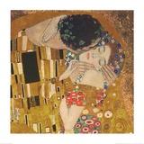 Le Baiser Reproduction d'art par Gustav Klimt