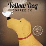 Yellow Dog Coffee Co. Reproduction d'art par Ryan Fowler
