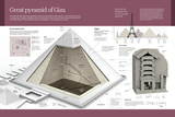 Computer Graphics About the Great Pyramid of Giza  in the Giza Valley and Built in the 2500 BC