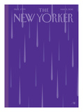 Prince Purple Rain New Yorker - Signed Limited Edition Cover – by Bob Staake – May 2  2016