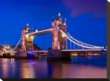 London Tower Bridge At Blue Hour